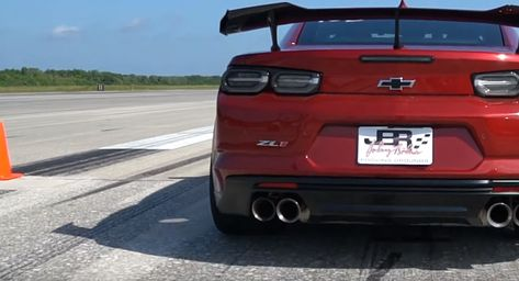Aero Package May Enhance Handling But It Cripples The Camaro Zl1