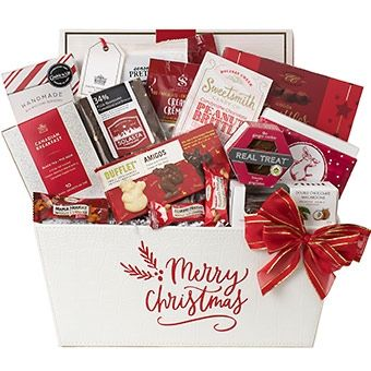 Merry Christmas Holiday 2018 Gift Basket Canada Gift Baskets