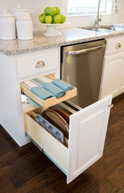 Kitchen Storage Ideas Cabinets Drawers Pull Out Shelves 26 Ideas