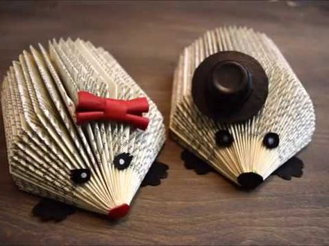 Folded book art is a new form of artistic expression which transforms unwanted books into beautiful decorative objects. Learn how to do it yourself here!