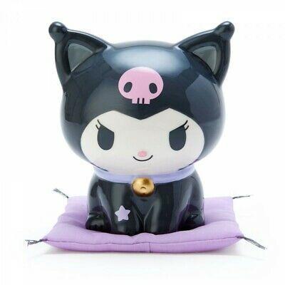 Kuromi Maneki Neko Cat Piggy Bank Sanrio Lucky Cat My Melody 12cm Official Ebay In 2021 Cat Piggy Bank Lucky Cat Piggy Bank