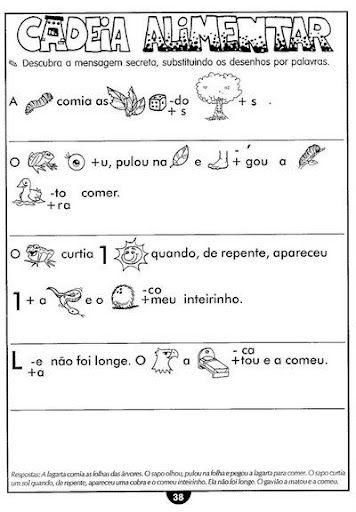 Cadeia Alimentar Animais Desenhos Colorir Imprimir 13 Jpg 356