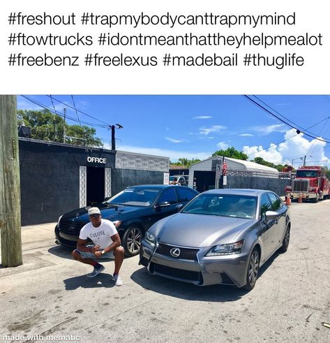 Both #my #cars #got #towed #in #the #same #day! #Bailed #them #out #like #the #boss #I #am! #______________________________________________________ #Travis #Brown #- #President #/ #CEO #305.713.0278 #Brown #Marketing #Consultants #Medical #Referral #Service #BrownMarketingConsultants #______________________________________________________ #caraccidentlawyer #law #worldstar #trucks #miamidade #driver #motorcycleaccident #personalinjurylawyer #highway #personalinjury #traffic #backpain #chiropract