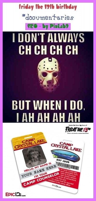Friday The 13th Birthday Meme : friday, birthday, Friday, Birthday, #friday, #birthday, #freitag, #geburtstag, #vendredi, #anniversaire, Fre…, Quotes,, Tattoo,, Memes