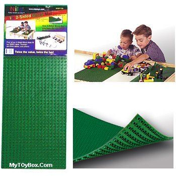 Two Sided Block Building Mat -Single by Nilo [Toy] Nilo Toys
