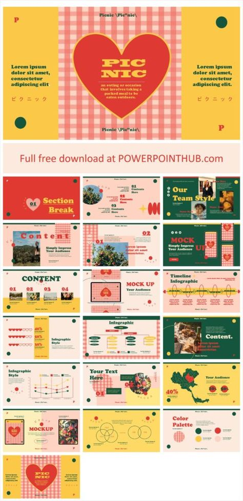 Picnic PowerPoint Template - Powerpoint Hub