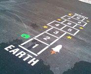 Reusable Playground Stencils From Canadian Manufacturer Outdoor - Playground stencils
