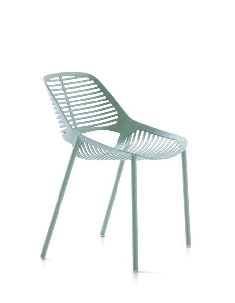 Fast Sedie Da Giardino.Niwa Collection Chair Light Blue Sedia Azzurro Pastello Fast