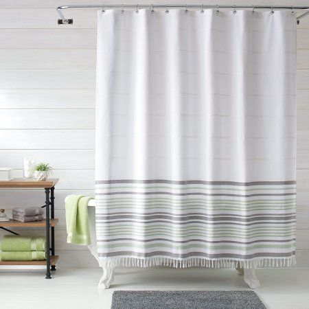 Better Homes Gardens Turkish Stripe Shower Curtain 1 Each Size