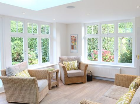 Elegant Timber Joinery Orangery in Cobham - Stanbrook & Nicholson