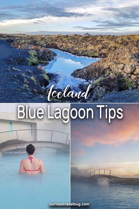 アイスランド、Blue Lagoonを訪れる