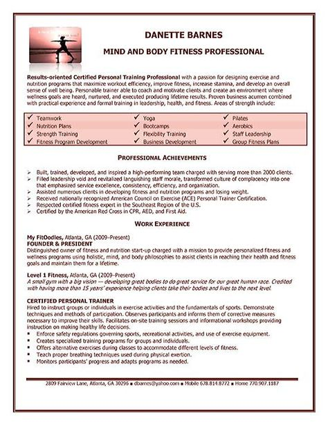 Person typing at computer All Things Content Pinterest - personal trainer resume objective
