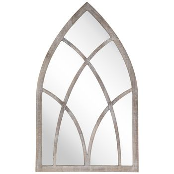 Cathedral Arch Wood Wall Mirror Wood Wall Mirror Mirror Wall Wall Mirror Online