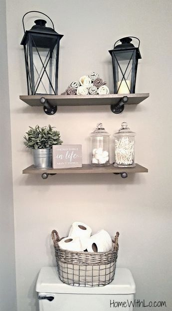 40 Super Ideas For Diy Home Decor Rustic Bathroom Farmhouse Style