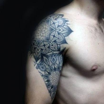 Tattoo mann schulter 80 Tribal