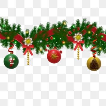 Christmas Decoration Pine Branches With Light Effect Garland Garland Clipart Christmas Decoration Png And Vector With Transparent Background For Free Downloa Christmas Decorations Garland Christmas Decorations Ornaments Garland Decor
