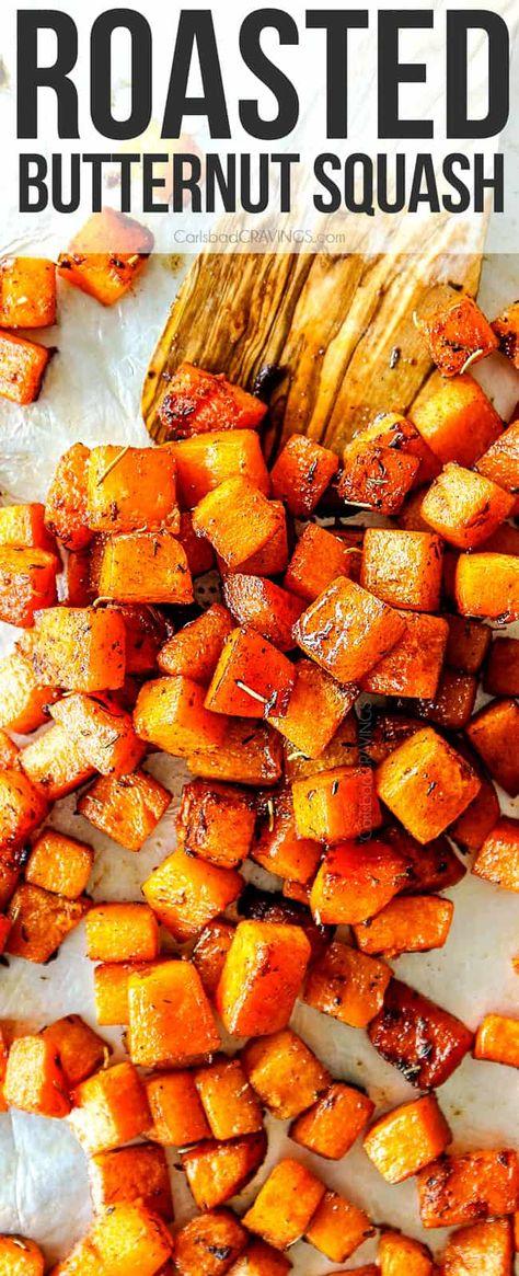 Roasted Butternut Squash - Carlsbad Cravings