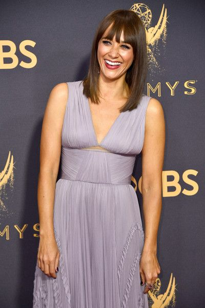 Actor Rashida Jones attends the 69th Annual Primetime Emmy Awards at Microsoft Theater.