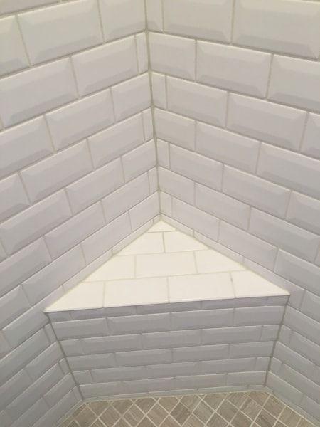 Avoid Cracked Grout Caulk Tile Shower Corners Shower Tile Corner Shower Tile Shower Grout