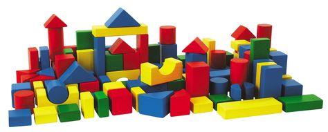 HEROS Holzbausteine Baby-Box 50, EUR 26,99
