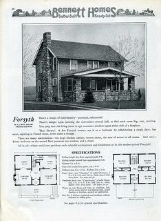 Bennett Homes 1920 In 2021 Bungalow Floor Plans Old House