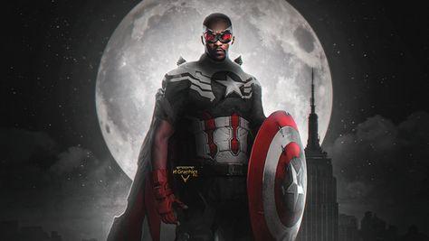 Falcon New Captain America Superhero TV Series 4K Wallpaper