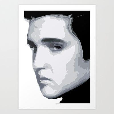 Mejores 7 imágenes de Elvis Presley | Poly Art en Pinterest | David ...