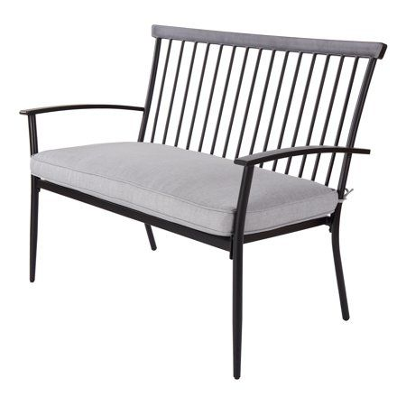 Patio Garden With Images Gray Patio Furniture Patio Bench