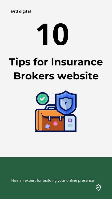 10 Insurance Website Design Tips for Brokers, Agents, Agency