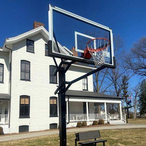 14 Backyard Basketball Ideas In 2021 Backyard Basketball Sport Court Basketball Court Backyard