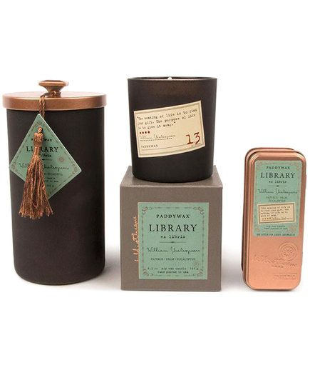 32 Affordable Book Themed Gifts For Bibliophiles Paddywax Paddywax Candles Gifts For Readers