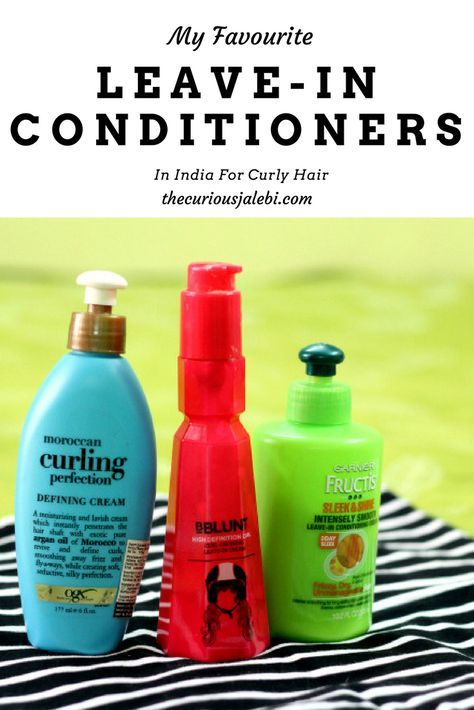 My Favourite Leave In Conditioners In India For Curly Hair The Curious Jalebi Curly Hair Styles Leave In Conditioner Curly