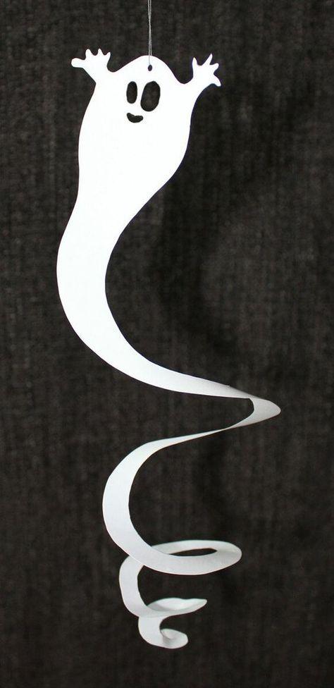 Halloween Geister-Spiralen - Kultur FAIT MAIN #Fait #GeisterSpiralen #Halloween #Kultur #main
