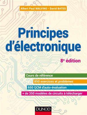 Principes D Electronique 8e Edition Cet Ouvrage Destine Aux Etudiants Qui Suivent Leurs Premiers Cours En En 2020 Electronique Cours Electronique Livre Electronique