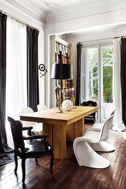 Beautiful Dining Rooms That Make Us Want To Cook White Dining Room Black And White Dining Room Beautiful Dining Rooms