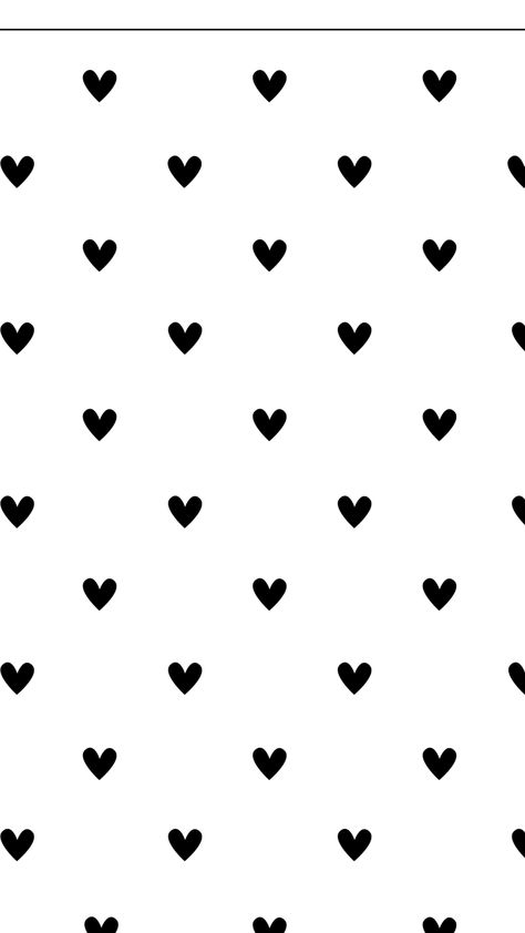 Wallpaper, Mono, Black, White, Background, HD, iPhone, Android, Minimal, Clean, heart, hearts