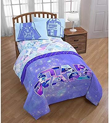 Amazon Com Star Wars Girl Bed In A Bag Sheet Set And Comforter