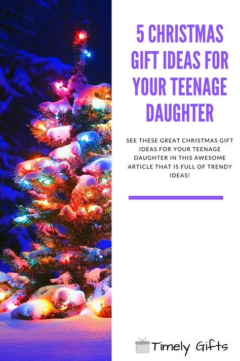 See these great Christmas gift ideas for teenage girl! This article will have 5 trendy Christmas gift ideas for your teen! If you are looking for some gifts your teen daughter will love, check out these trendy gift ideas. #christmas #christmasgifts #teenager #daughter #gift #giftideas #holidaygifts #giftsfordaughter #teenage #teengifts #girlgifts #teenagegirl