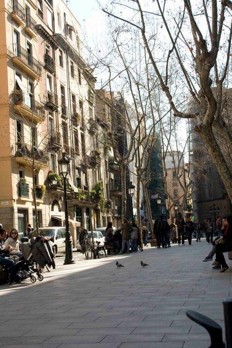 El Born Barcelona Favorite City Street View