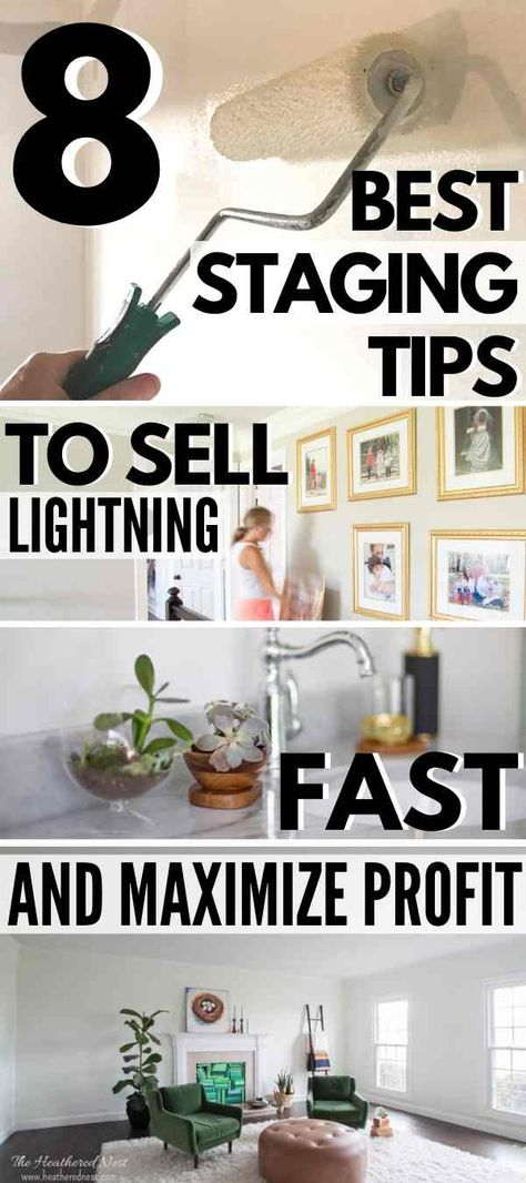 8 expert house staging tips! Sell lightning-fast & maximize profit!