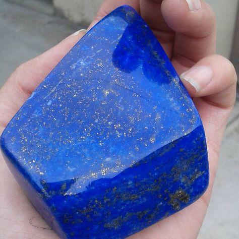 8 un 18x7mm beautiful natural Lapislázuli /& Pirita Redondo Cab Cabujón HCQ51