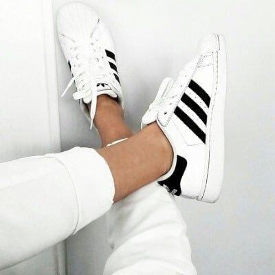 Basic black \u0026 white Adidas Superstar