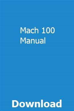 Mach 100 Manual Rover P6 Manual Owners Manuals