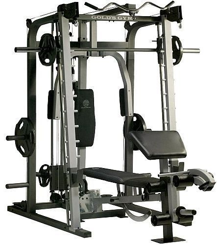 Brand New Gold S Gym Platinum Home Gym Includes Smith Machine Bench Rack Gold Sgymxrs50homegym Gyminstruments Marcy Home Gym At Home Gym Home Gym Equipment