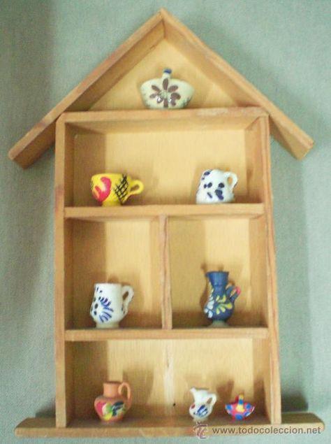 casita de madera para colgar en la pared