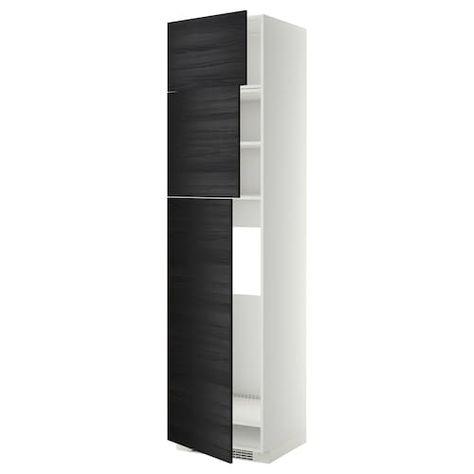 Hasvik Pair Of Sliding Doors High Gloss White Ikea