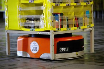 Amazon S Clever Machines Are Moving From The Warehouse To Headquarters