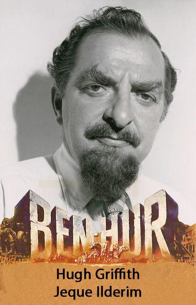 Hugh Griffith Jeque Ilderim Action Movies Movies Ben Hur