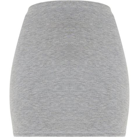 Grey Marl Ultimate Jersey Mini Skirt ($12) ❤ liked on Polyvore featuring skirts, mini skirts, jersey skirt, mini skirt, gray mini skirt, short skirts and grey skirt