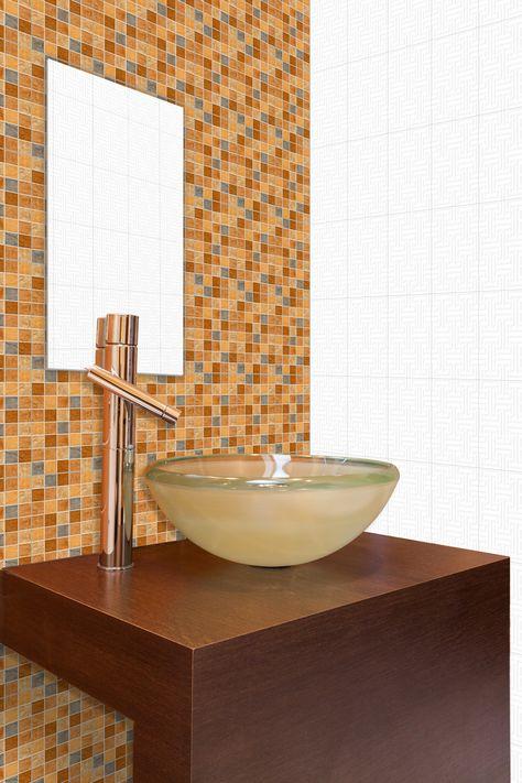 Exotica Multi - Tiles For Bathroom http://www.orientbell.com/bathroom-tiles.php